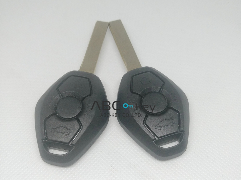 CAS2 System Remote Key 3 Button 315Mhz/433MHZ HU92 For BMW