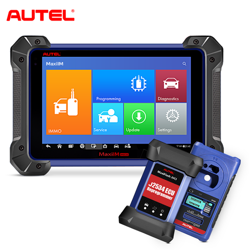 Autel MaxiIM IM608 Diagnostic IMMO Key Programming and ECU Coding Intelegent than AURO OtoSys IM600