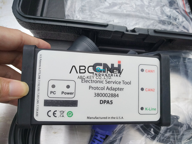 CNH Diesel 24V Diagnostic Equipment DPA5 for New Holland and Case with Newest EST V8.9 Software