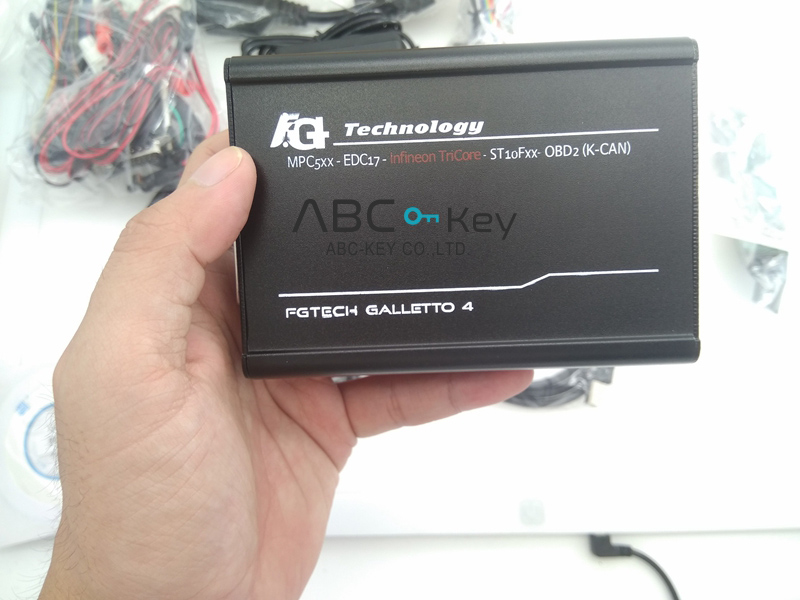V54 FGTech Galletto 4 Master BDM-Tricore-OBD Function ECU Programmer With Multi Language