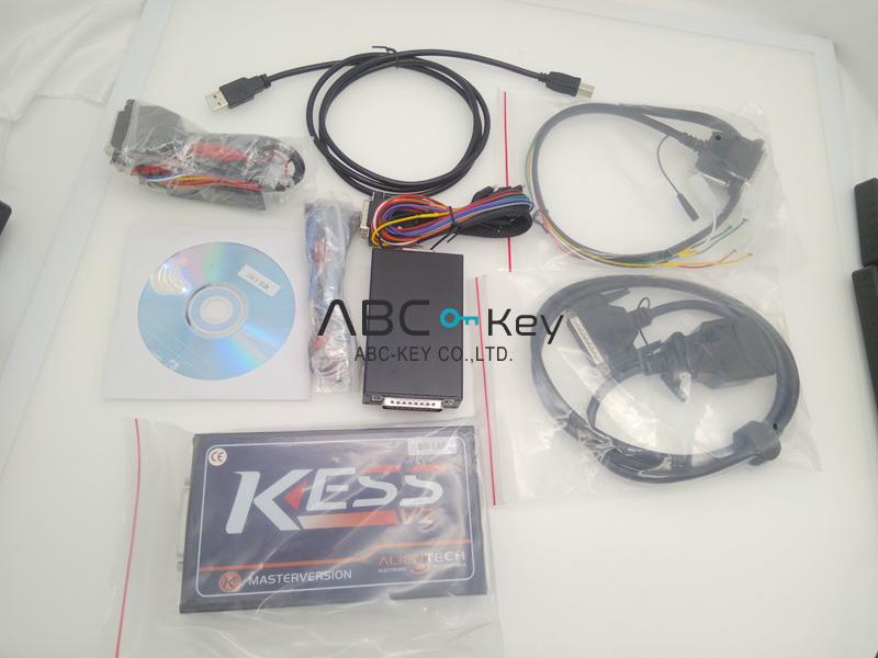 Newest V2 47 KESS V2 V5 017 Manager ECU Tuning Kit Master Veion with