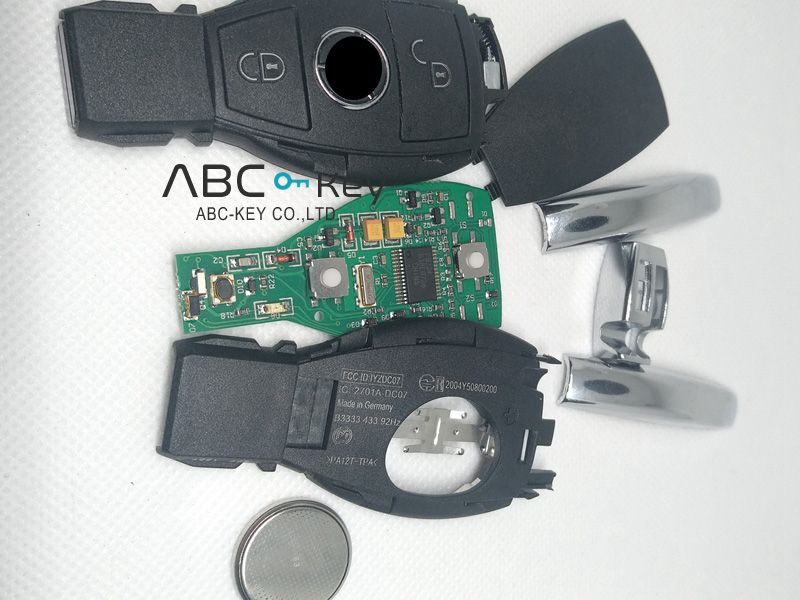 2B BGA BE Remote for Mercedes