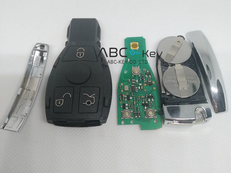 3B BGA BE Remote with 2 Battery for Mercedes