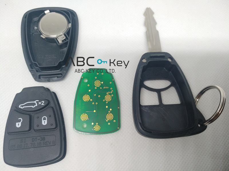 Genuine Smart Fob Key for Chrysler 300C and Jeep