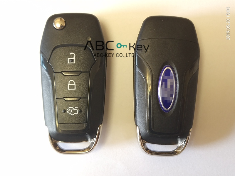 2015+ Ford Mondeo Escort Flip Key 3 Button 434Mhz DS7T-15K601-BE