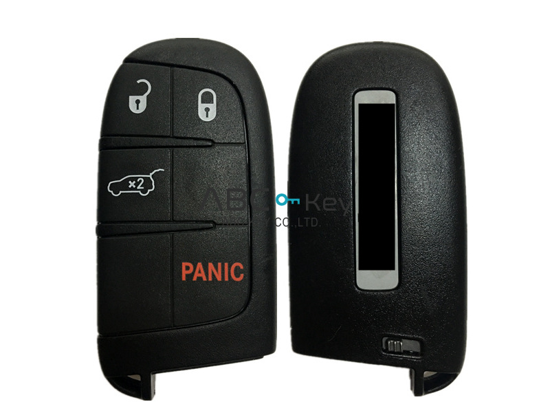 OEM JEEP 3 + 1 button 433MHZ Smart Remote Key