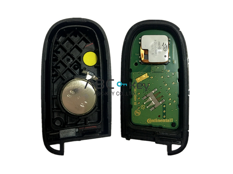 Original JEEP 4 button 433MHZ Smart Remote Key