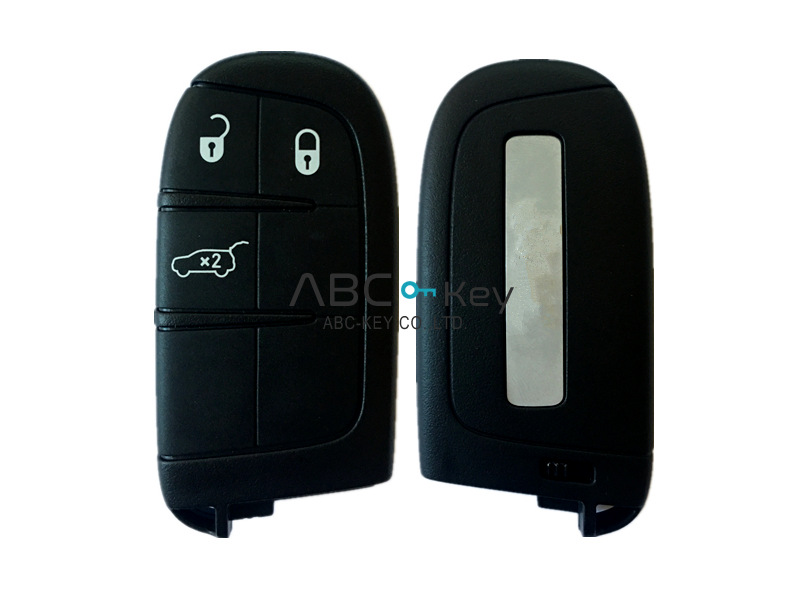 OEM key 3 smart keys for Jeep Liberty