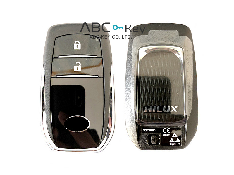 2016 for Toyota Hilux Smart Entry Key 2B - BM1EW - 433Mhz 8A CHIP