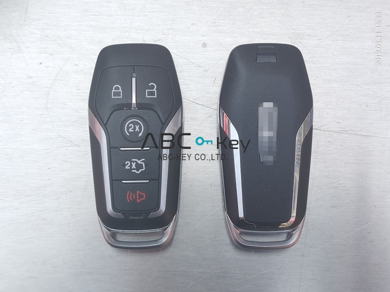 Original Lincoln smart key 4+1 button 902mhz